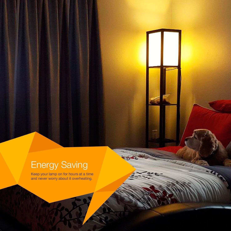 Shelf Floor Lamp Light Wood Lamp Alimart